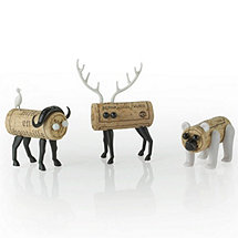 Corkers Animal Kit (Deer, Buffalo, Bear)