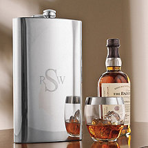 Personalized Giant Stainless Steel Flask (64 Oz)