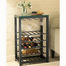 TAG Trio Steel Wine Table