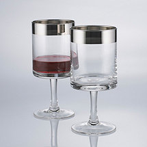 Madison Avenue Short Stem Wine Glasses (Set of 2)