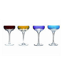 Waterford Mixology Colored Martini (Set of 4)