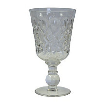 Teardrop Goblet (Clear) (Set of 4)