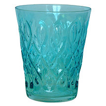 Teardrop Juice Glass (Blue) (Set of 4)