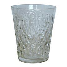 Teardrop Juice Glass (Clear) (Set of 4)