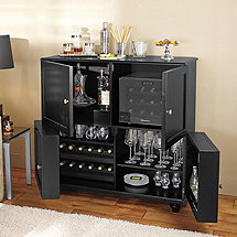 Segreto Folding Wine & Spirits Bar with 12