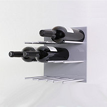 Vin de Garde XY Series 3X3 Modular Wine Wall Panel (Grey)