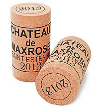 Wine Cork Stool (Chateau de Max Rose 2013)