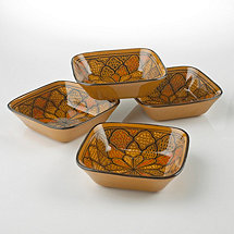 Honey Design Square Tagine Bowl (Set of 4)
