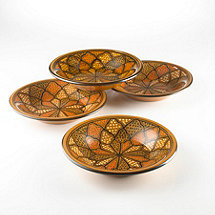Honey Design Round Tagine Bowls (Set of 4)