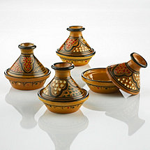 Honey Design Mini Tagines (Set of 4)
