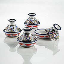 Tabarka Design Mini Tagines (Set of 4)