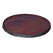 Ring Top Barrelhead Lazy Susan