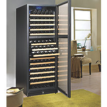 Wine Enthusiast 170 Bottle Dual Zone Wine Cellar (Full Glass Door Right Hinge)