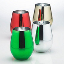 Metallic U Tumblers (Set of 4)