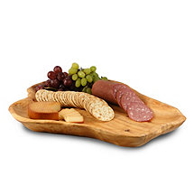 Root Wood Party Tray