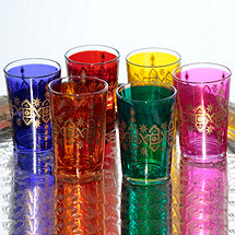 Moroccan Wine Tumblers (Set of 6)
