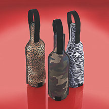 Safari Wine Totes (Set of 3)