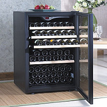 EuroCave Comfort 101 Wine Cellar (1-Temp) (Black - Glass Door)(Outlet A)