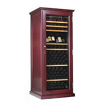 EuroCave Performance 283 Elite Wine Cellar (Mahogany - Glass Door) (Outlet) A