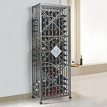 Personalized SoHo 96 Bottle Wine Jail
