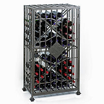 Personalized SoHo 64 Bottle Wine Jail
