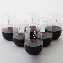 Magnetic Shoe Wine Charms (Set of 6)