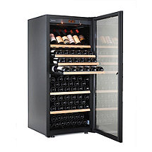 EuroCave Performance 183 Wine Cellar 1 Temp (Black - Glass Door Right) (Outlet) A