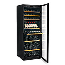 EuroCave Performance 283 Wine Cellar 1 Temp(Black - Glass Door Right Hinge) (Outlet D)