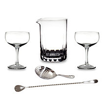 Cocktail Kingdom Stirred Cocktail Bar Tool Kit (5 Piece)