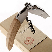 Origine Reclaimed Wine Barrel Waiter's Corkscrew (Natural Finish)