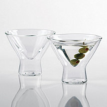 Steady-Temp Martini Glasses (Set of 4)