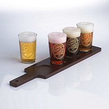 Personalized Brewing Co. Beer Flight Glasses (Set of 4)