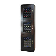 Trilogy Wine Cellar Espresso (Left Hand Hinged Door) (Outlet)