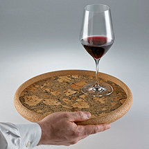 Cork Beverage Serving Tray