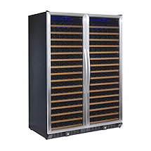 N'FINITY PRO Double Red 332 Bottle Wine Cellar