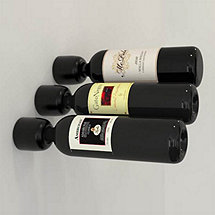 Wine Cell Wall Mounted Wine Bottle Holders (Set of 3)