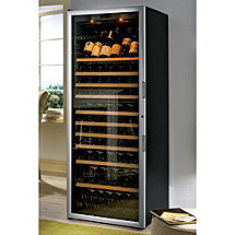 EuroCave Performance 283 Wine Cellar (Black - Left Hinged Glass Door with Brushed Aluminum Trim) (Outlet A)
