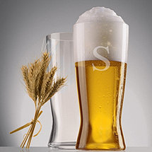 Personalized Spiegelau Beer Classics Lager Glasses (Set of 2)