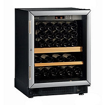 EuroCave Performance 59 Built-In Multi-Temp Wine Cellar (Black - Glass Door with Brushed Aluminum Trim) (Outlet A)