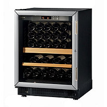 EuroCave Performance 59 Built-In Wine Cellar (Black - Left Hinged Glass Door with Brushed Aluminum Trim) (Outlet A)