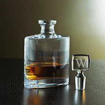 Personalized Eclipse Whiskey Decanter (Stopper)