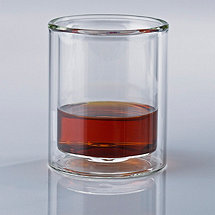 Steady-Temp Double Old Fashioned Whiskey Glasses (Set of 4)