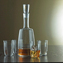 Fusion Derby Whiskey Decanter & Glasses Set