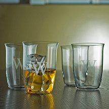 Personalized Fusion Whiskey Glasses (Set of 4)
