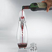 Personalized Vinturi Reserve Red Wine Aerator and Carafe Gift Set