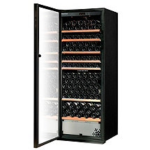 EuroCave Performance 283 Dual Zone Wine Cellar (Black - Left Hinged Glass Door) (Outlet A)