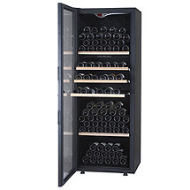 EuroCave Comfort 266 Wine Cellar (1-Temp) (Black - Left Hinged Glass Door) (Outlet A)