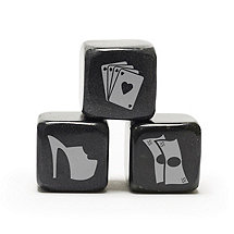 Las Vegas Icon Whisky Stones (Set of 3)