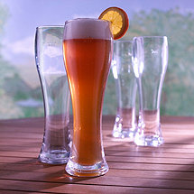 Indoor / Outdoor Pilsner Glasses (Set of 4)