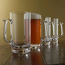 Indoor / Outdoor 34 oz Beer Tankards (Set of 4)